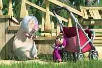 Маша и медведь 26 серия смотреть онлайн